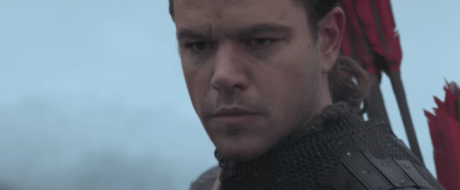 Matt Damon Goes Monster-Hunting in First Great Wall Trailer