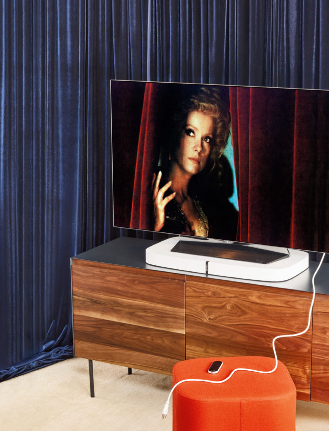 Make Movie Night a Blockbuster With This Fully-Loaded TV Room