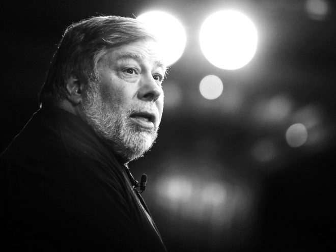 How Steve Wozniak Got Over His Fear of Robots Turning People Into Pets