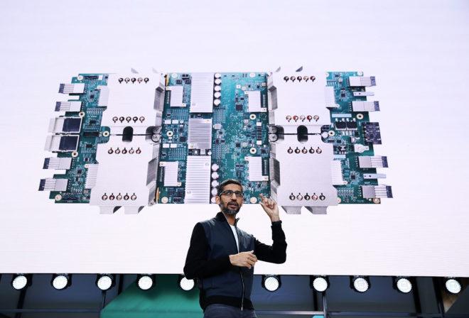 Sundar Pichai Sees Google's Future in the Smartest Cloud