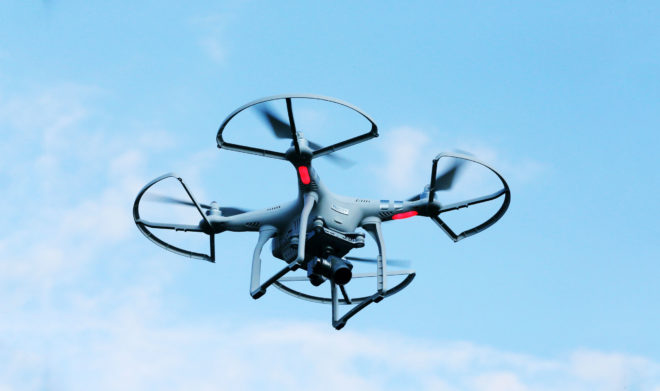 How Do Drones Fly? Physics, of Course!