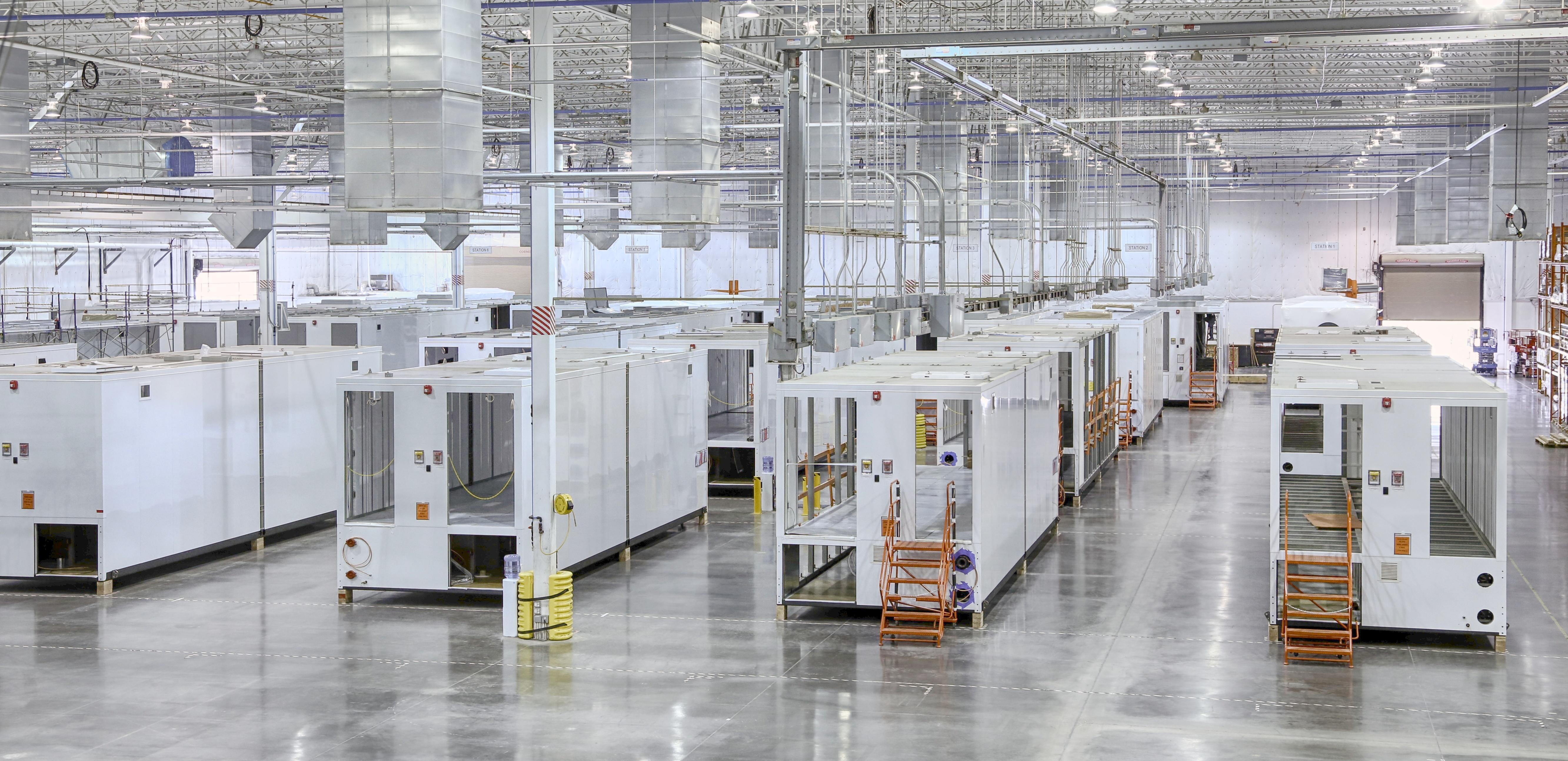 3D printer factory