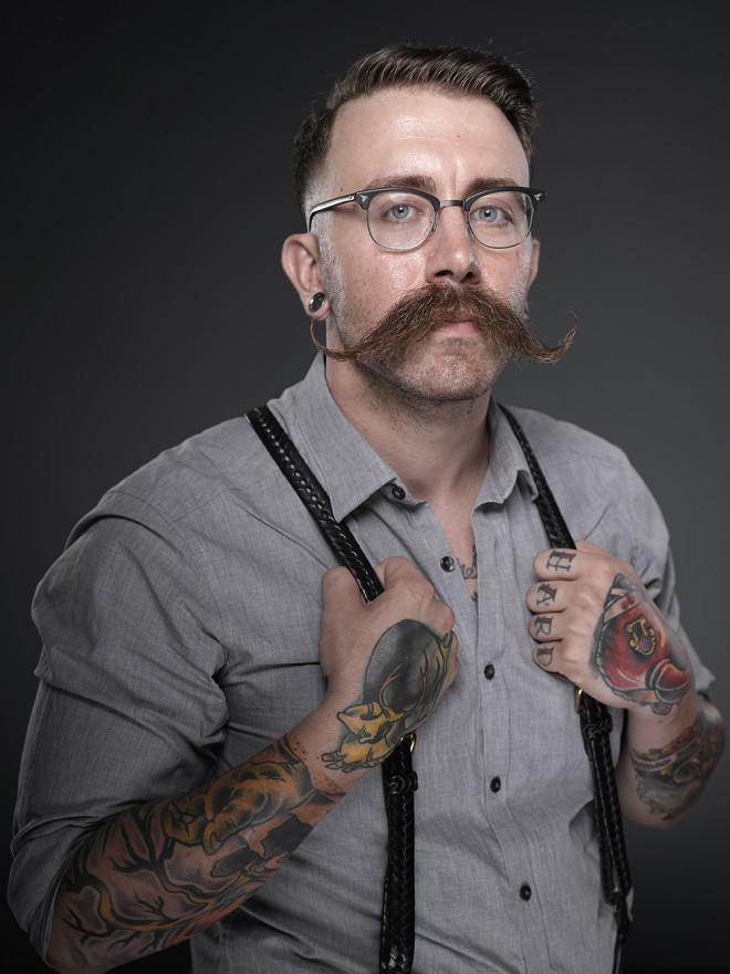 Amazing Facial Hair Photos From A National Beard Brawl WIRED