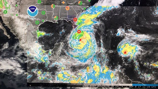 Absolutely crazy out there in the Atlantic. #storm #hurricane