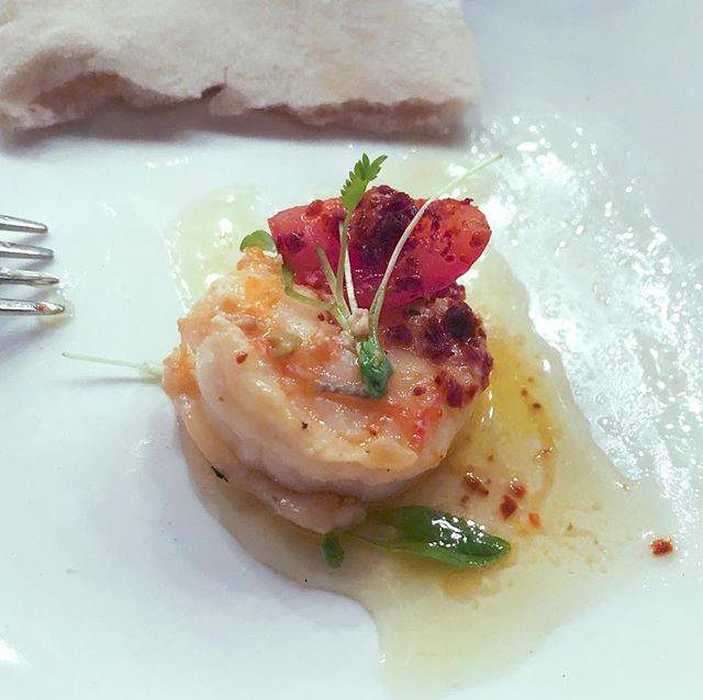 Dinner at @ililirestaurants was fabulous last night. Mediterranean food at its best with @bermuda.bride