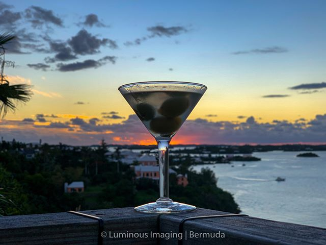 A great way to enjoy a Bermuda sunset after a long day. No two sunsets are ever the same. Always beautiful.