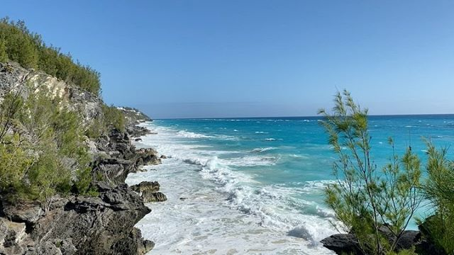 Winter in Bermuda. Gorgeous day indeed!