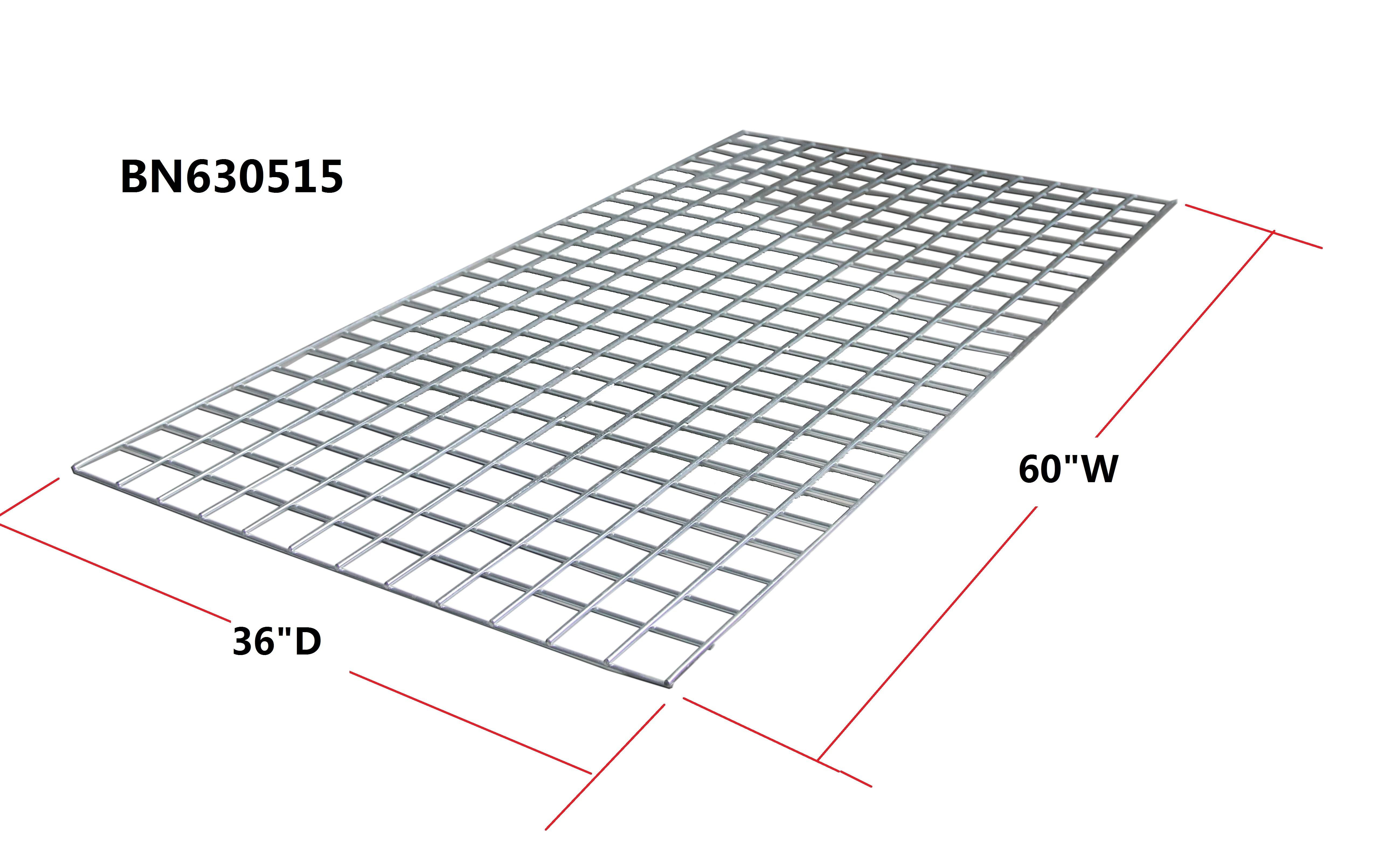 Galvanized 4 Ga Steel Wire Mesh Decking For Pallet Racking