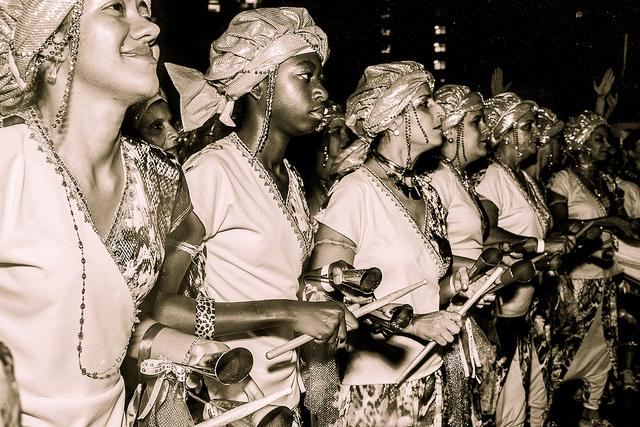 Educación, cultura y arte negro en femenino con Ilú Obá De Min (São Paulo). Foto: Jennifer Glass Y Fora do Eixo.
