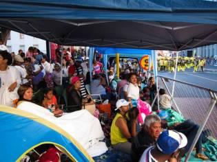 Público pasando el día en el Minstrel Carnival. Foto: Vanessa Anaya