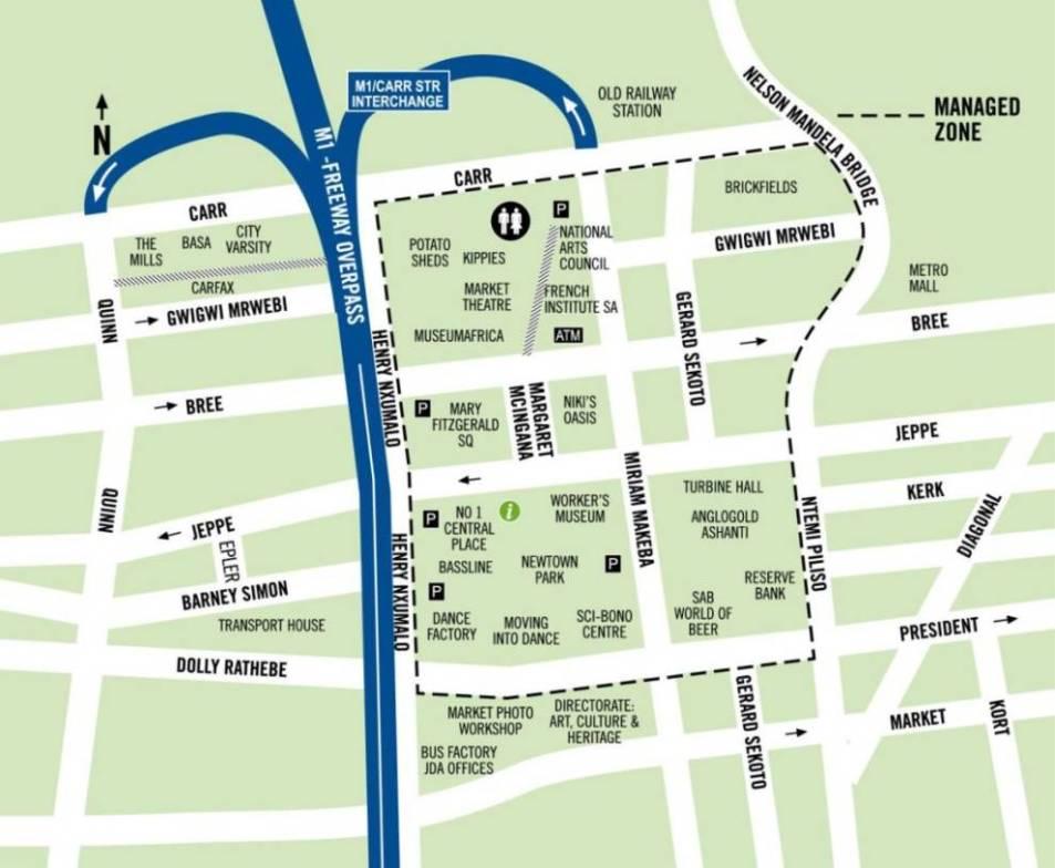 Newtown Map