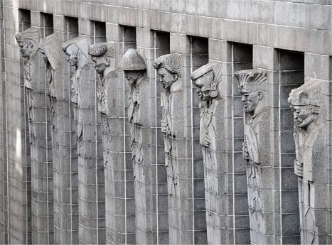 'The Mutual Building': historia esculpida al estilo 'art deco'