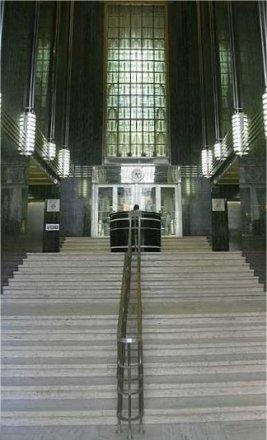 Lobby del edificio. Fuente: Wikipedia