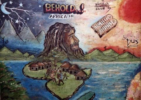 Viejo Mural de Freetown. Fuente: Brand Sierra Leone