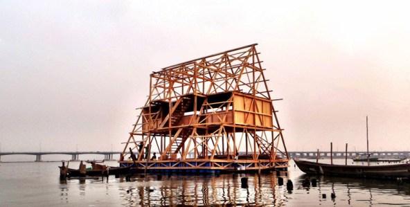 Makoko Floating Shool. Foto: NLË