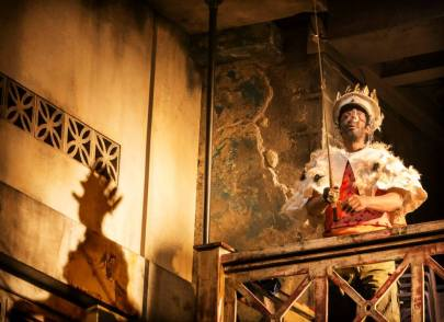 A Season in the Congo – Brian Bovell as Baudouin, King of Belgium. Photo by Johan Persson.