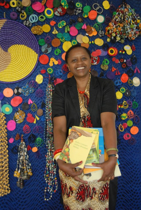 Agnes Gyr-Ukunda, responsable de Éditions Bakame. Foto cedida por la editorial
