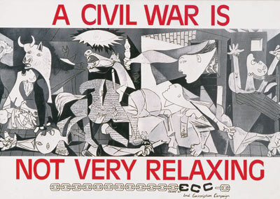 A Civil war is not very relaxing (Una guerra civil no es muy relajante)