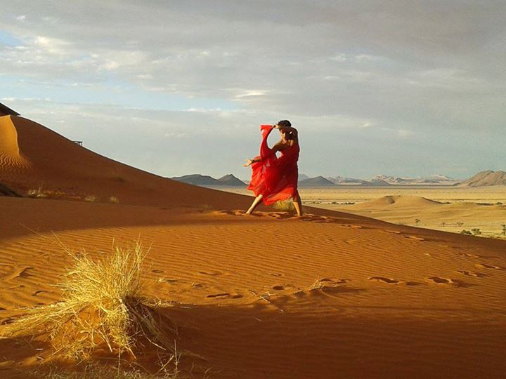 Shishani en la preparación de su próximo videoclip, para 'Lay In The Sun' de su EP debut