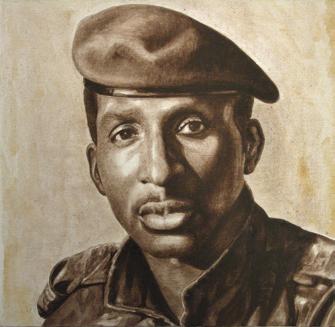 Retrato de Thomas Sankara - Ndary Lo