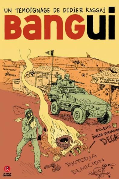 Portada del cómic de Didier Kassaï publicado por La Revue Dessinée
