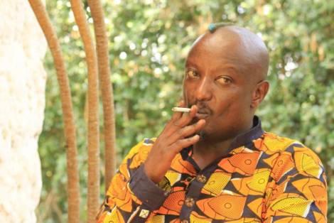 Binyavanga Wainaina por Sebastián Ruiz/Wiriko.