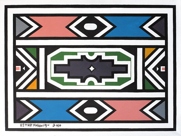 Abstract V 2010 - Esther Mahlangu