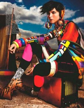 Vogue UK - Mario Testino