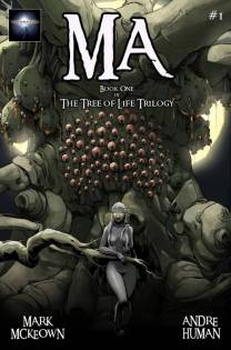 Portada de Ma, la primera entrega de The Tree of Life Trilogy.