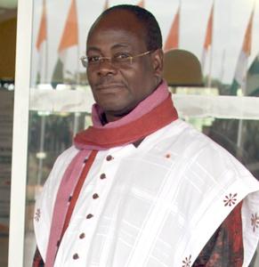 Venance Konan. Fuente: 2709 books - Abdoulaye Coulibaly