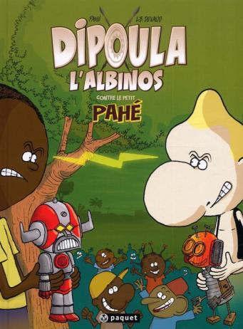 Portada de uno de los álbumes de Dipoula del gabonés Pahé