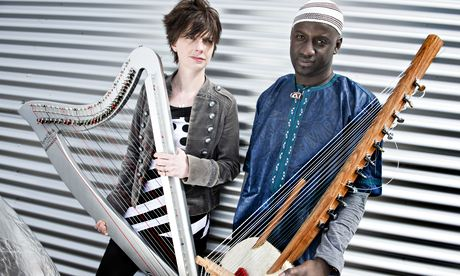 Catrin Fick & Seckou Keita. Foto: Judith Burrows/Getty Images