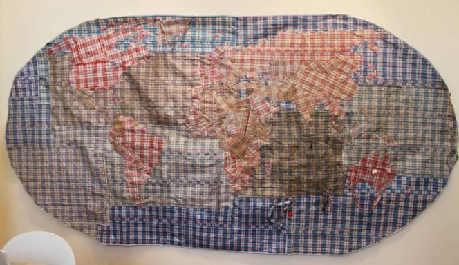 Dan Halter Rifugiato -Mappa del Mondo