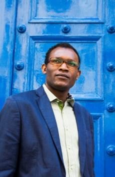 Fiston Mwanza Mujila. Foto: Philippe Matsas. Fuente: Editorial Métailié