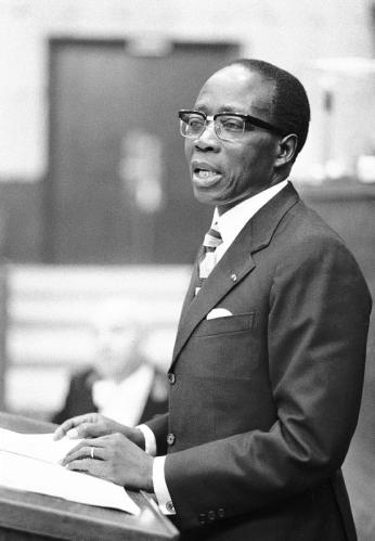 Leopold Sedar Senghor. Foto: Council of Europe