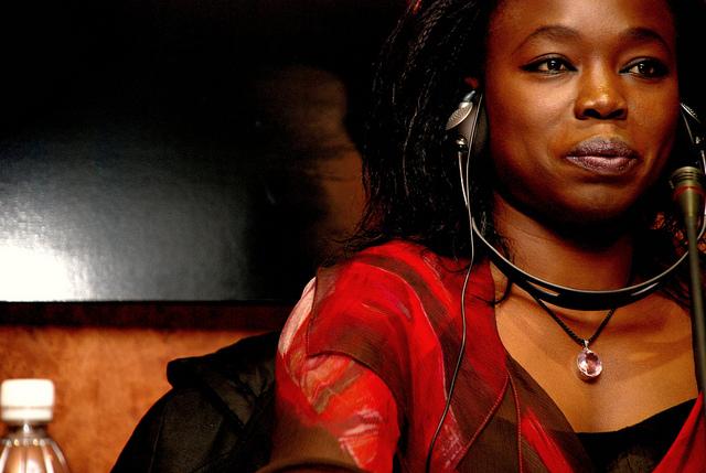 Fatou Diomé en Casa África. Fuente: Casa África