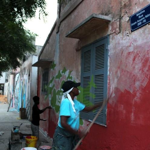 Festival XEEX en el barrio de la Medina (Dakar). Foto: Estrella Sendra.