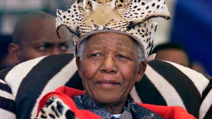 Nelson Mandela (Foto de Media24/Gallo Images/Getty Images)