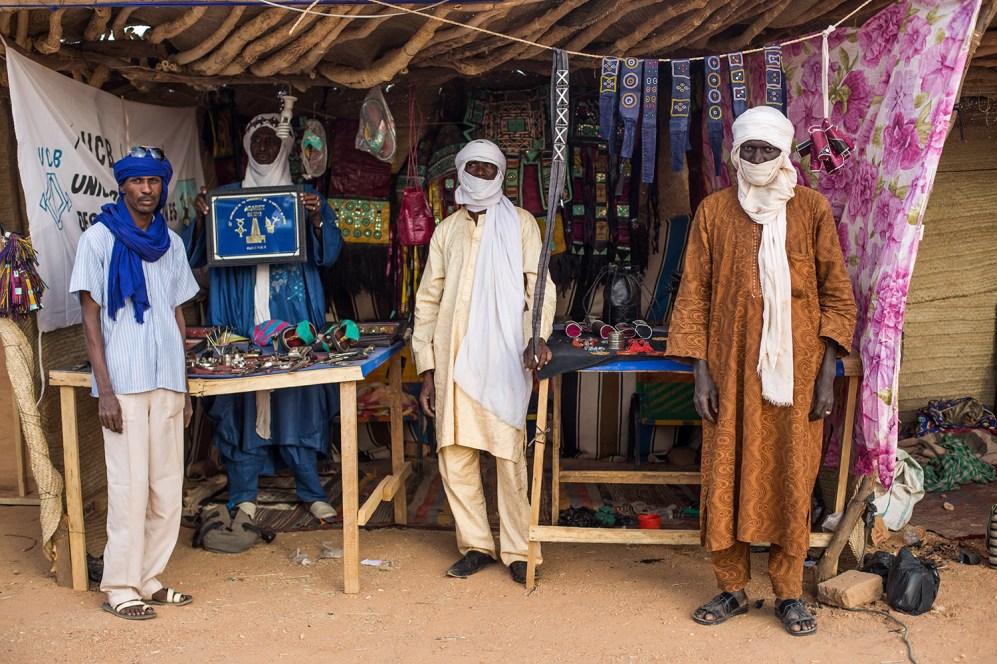 Mercado de artesanía y orfebrería de Agadez. Imagen de Héctor Mediavilla para Wiriko.