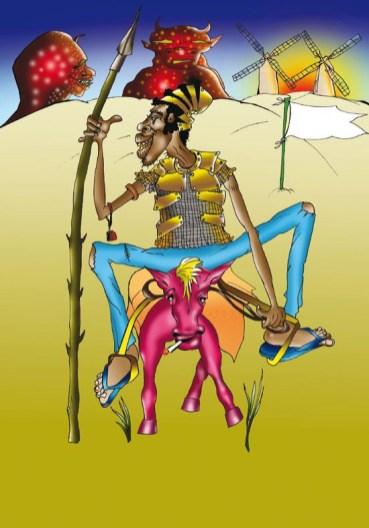 Housseini Salifou - Don Quijote el Africano