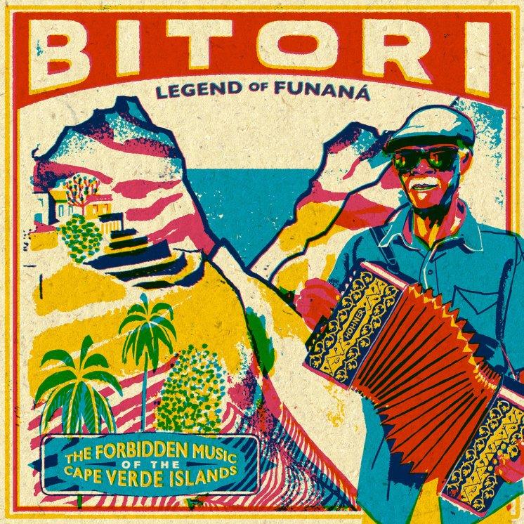 Portada del disco Bitori: Legend of Funaná, que editó Analog Africa en 2016.