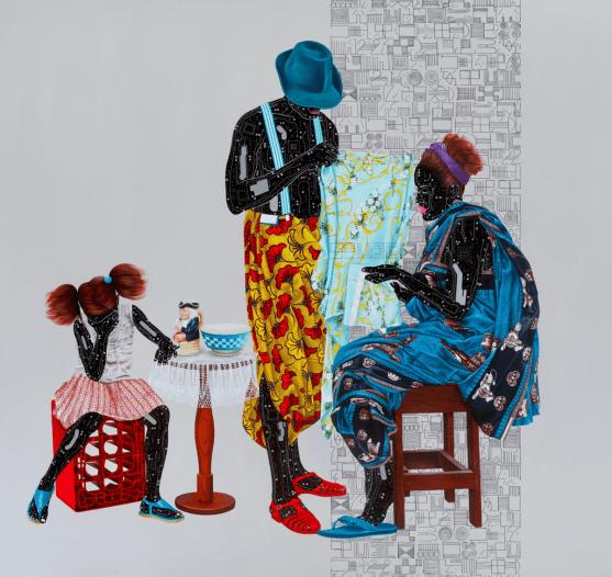 Fragile responsability (2018). Eddy Kamuanga Ilunga - October Gallery London
