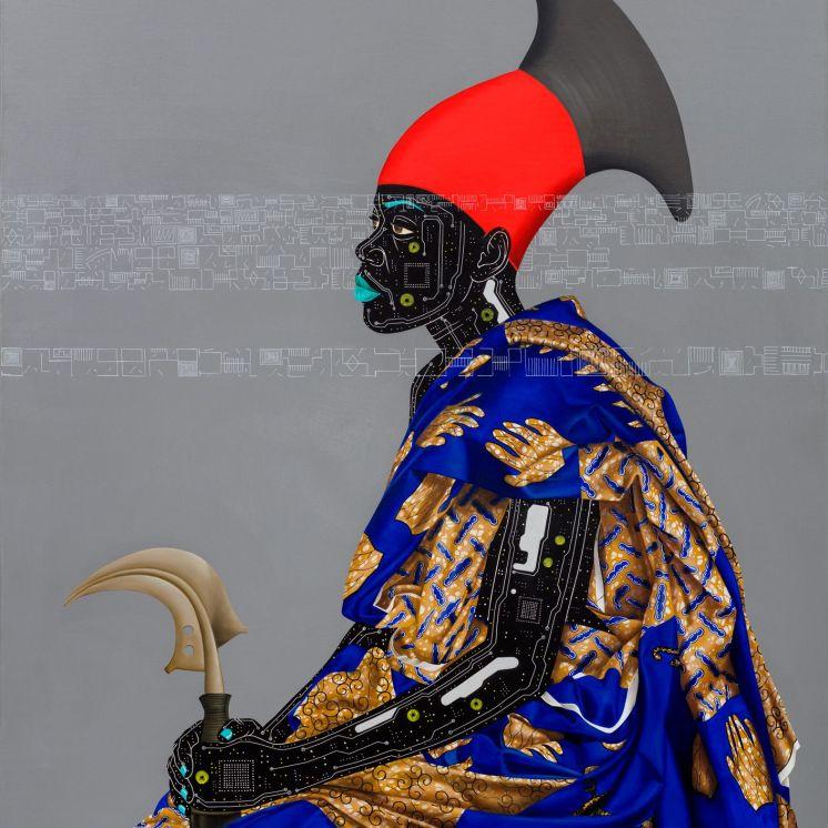 Reconnaissance II (2016). Eddy Kamuanga Ilunga - October Gallery London