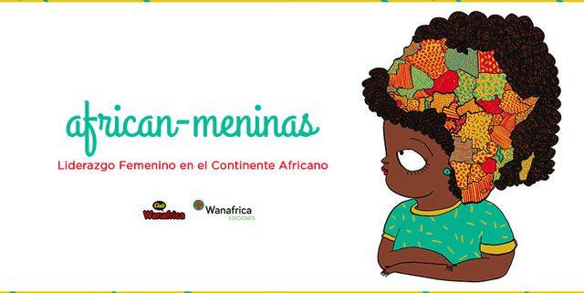 Tarjeta de divulgación del proyecto African-Meninas