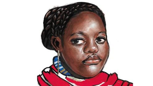 Algunas de las imágenes que Tina Ramos ha elaborado para ilustrar artículos de la revista Mundo Negro.