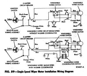 Wiring Diagram For Windshield Wiper Motor  impremedia