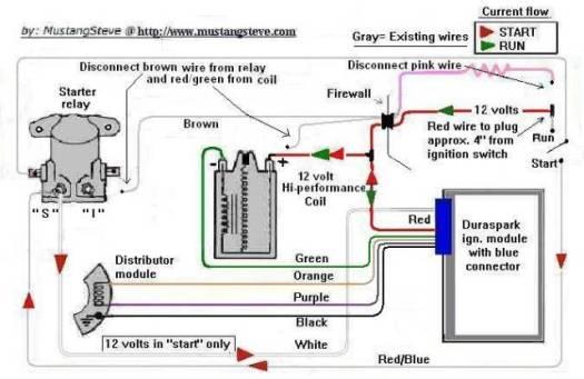 ford mustang 12 volt solenoid wiring diagram diagrams