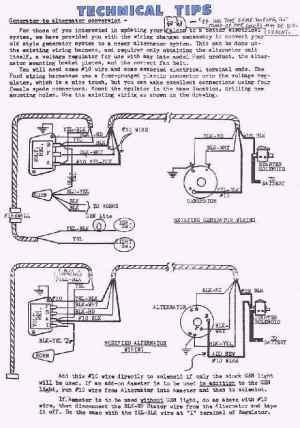 327 Chevy Alternator Wiring Diagram Schematic Diagram