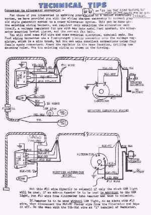 332428 Ford FE Engine Forum: generator to alternator