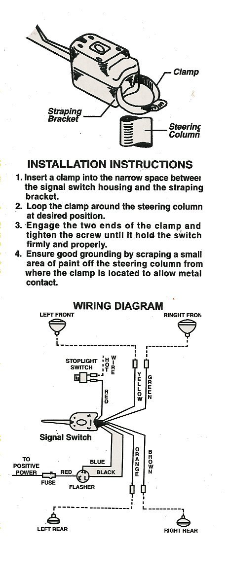 hl101back?resize\\\\\\\=462%2C1178 exciting grote turn signal switch wiring diagram pictures wiring Ford F-150 Wire Schematics at panicattacktreatment.co